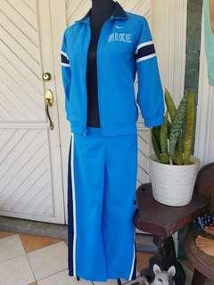 Nike Blue Track Set | Jacket & Track Pants