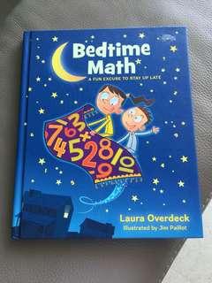 Bedtime Math story book