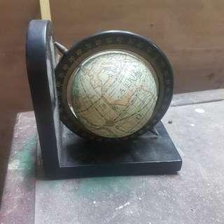 收藏多年,地球儀