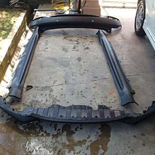 Full Set Honda HRV Original Rear Bumper, Side Skirt and Front Bumper Lip