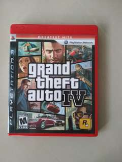[WTS]  Pre-loved PS3 Games Playstation 3 Grand Theft Auto IV.  See All Pics.