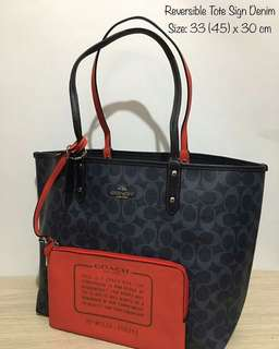 IDR 1.950.000 Coach Reversible Tote