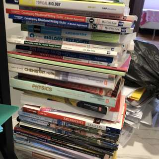 GIVEAWAY (Old Assessment Books!)