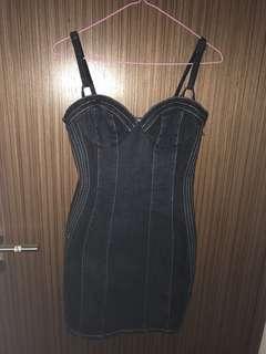 Denim Corsett Dress