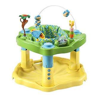 *new in box* Evenflo Exersaucer Bounce & Learn activity center, Zoo Friends (not jumperoo)