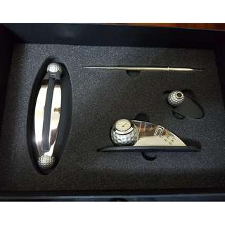 Arezzo Pen & Clock Accessories Set