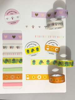 LINE Friends Washi Tapes