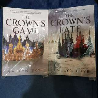 THE CROWNS GAME, THE CROWN'S FATE- EVELYN SKYE