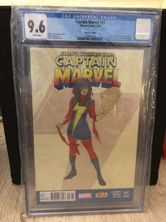 Captain Marvel #17 2nd Print CGC 9.6