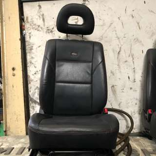 USED LANCER GLX CAR SEATS (DRIVER & PASSENGER)