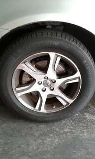 Volvo Wheel/Rim Set