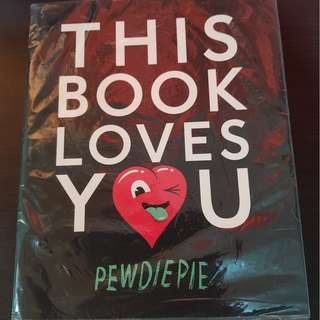 BNEW THIS BOOK LOVES YOU-PEWDIEPIE