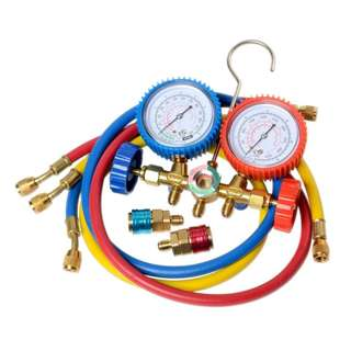Air-Con Manifold Gauge Set with R-134 couplers