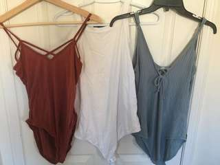Assorted body suits