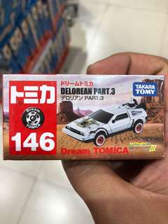 Dream tomica delorean back to the future bttf