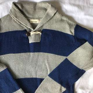Zara boys Stripes knit sweater (Size 11/12)