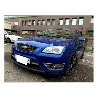2006年 福特FOCUS ST寶藍 二手車中古車