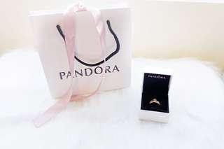 Pandora Rose Gold Tiara ring 💎✨