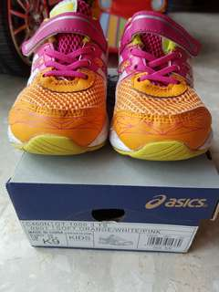 Authentic Asics toddler shoes