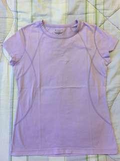 Tekgear Purple Exercise Shirt