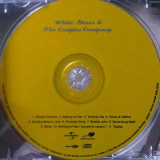 CD White Shoes & The Couples Company (CD Only/Tanpa Cover)