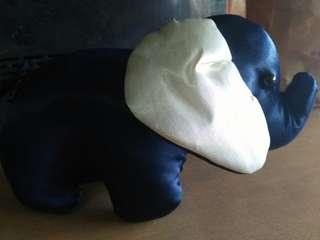 Stuffed elephant blue
