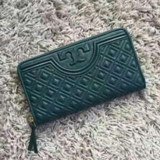 Authentic Tory Burch Fleming Zip Wallet