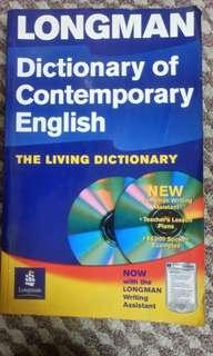 Longman contemporary English Dictionary