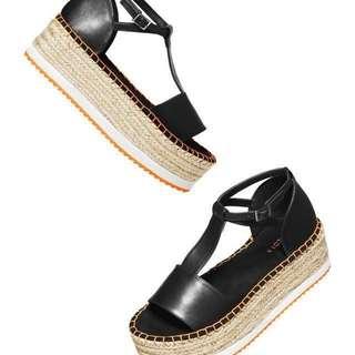 H&M Coachella Collection Wedge Espadrille Sandals