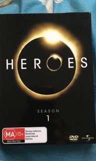 Heroes Season 1 (DVD)