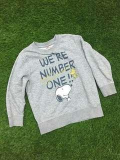 uniqlo kids sweatshirt