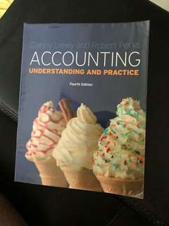 Accounting fourth edition Danny leiwy and Robert perks