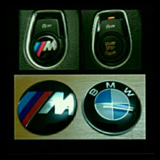 Push Start Emblem for BMW