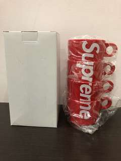 Supreme SS18 ceramic Stacking Cups