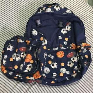 SALE! Authentic GAP Backpack with Lunchbox