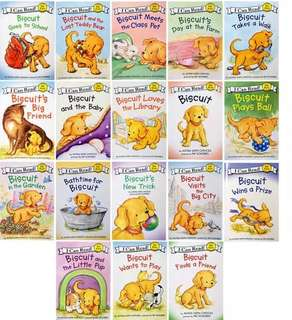 I can read - Biscuit (18 books set)