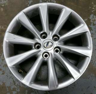 "Lexus IS250 original 17"" rim"