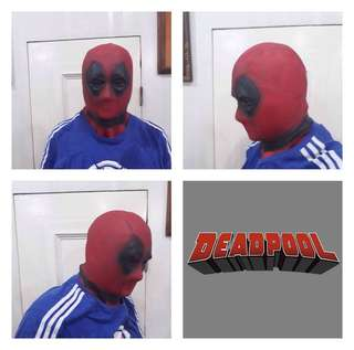 DEAD POOL LATEX RUBBER MASK 09176652906