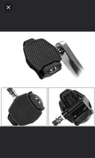 In stock! Road Bike Clipless Pedals Adapter Platform Pedal Plate Convert for Shimano SPD-SL Look KEO Road Pedals