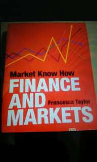 Finance and markets- by francesca Taylor