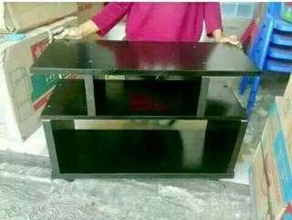 Rak tv murah minimalis hitam