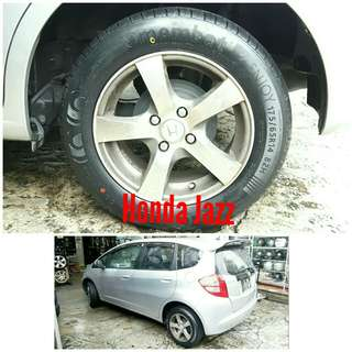 Tyre 175/65 R14 Membat on Honda Jazz 🐕 Super Offer 🙋♂️