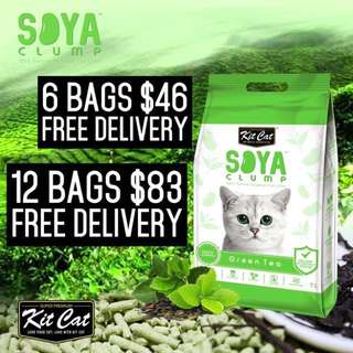 Kit Cat Soya Litter 7L
