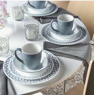 Corelle impressions 16pcs dinnerware set