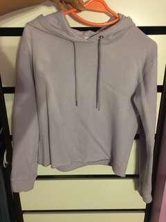 Garage lilac crop top sweater