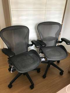 Year 2016 herman Miller aeron chair