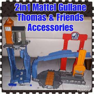 2in1Mattel Gullane Thomas & Friends Accessories