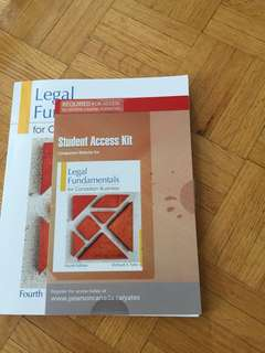 Legal Fundamentals for Canadian Business (Fourth Edition)