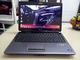 Asus 14.5inch/4Gb/500Gb hdd/windows7 /Gaming
