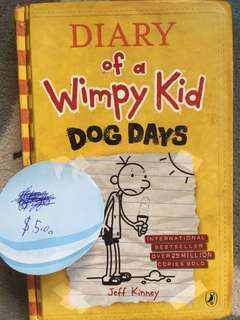 Dairy of whimpy kids